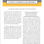 Capital Markets Quarterly 3Q14