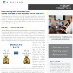 Private Equity Investments: What You See is not Always What You Get
