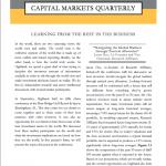 Capital Markets Quarterly 3Q14