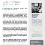 Liability Driven Investing: FAQ
