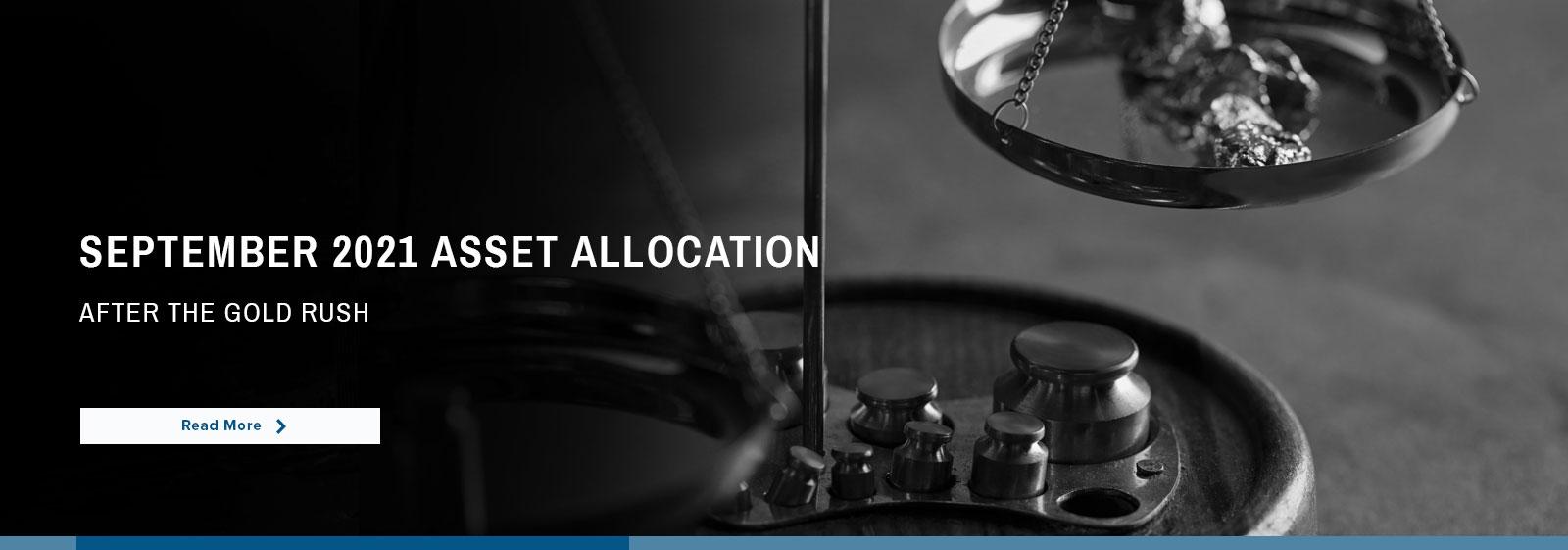 Highland Associates – Asset Allocation | September 2021
